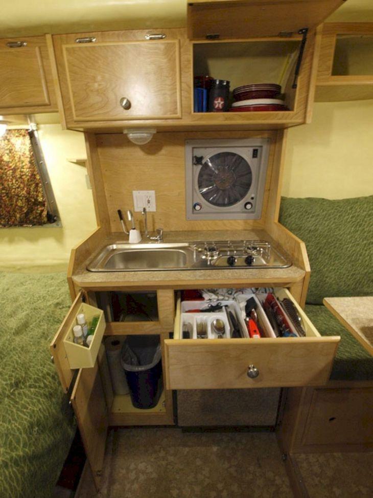 RV Kitchen Storage Design Ideas 15