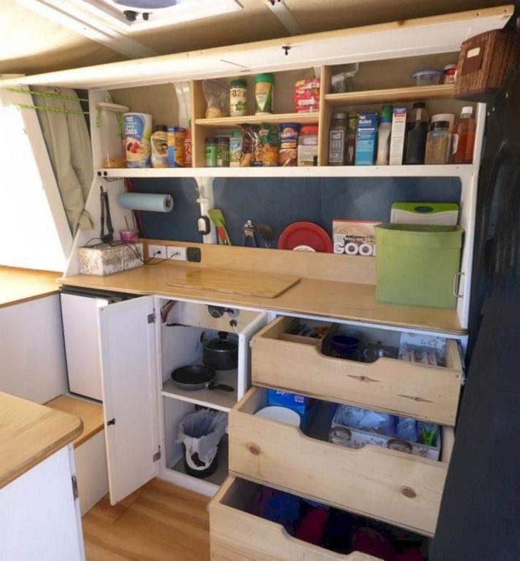 RV Kitchen Storage Design Ideas 20