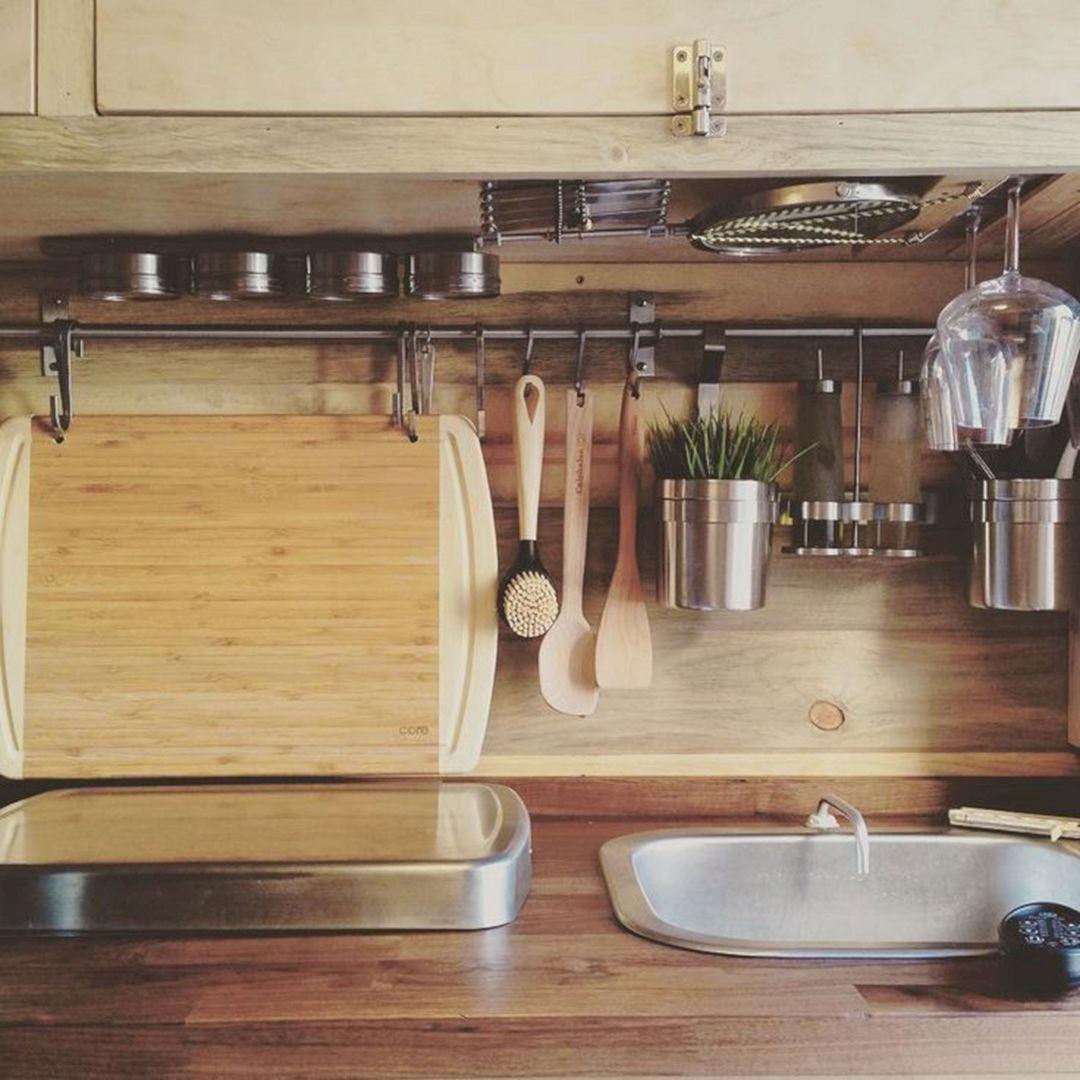 RV Kitchen Storage Design Ideas 30 – DECOREDO