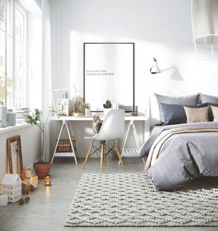 Scandinavian Bedroom Decorating Ideas 7