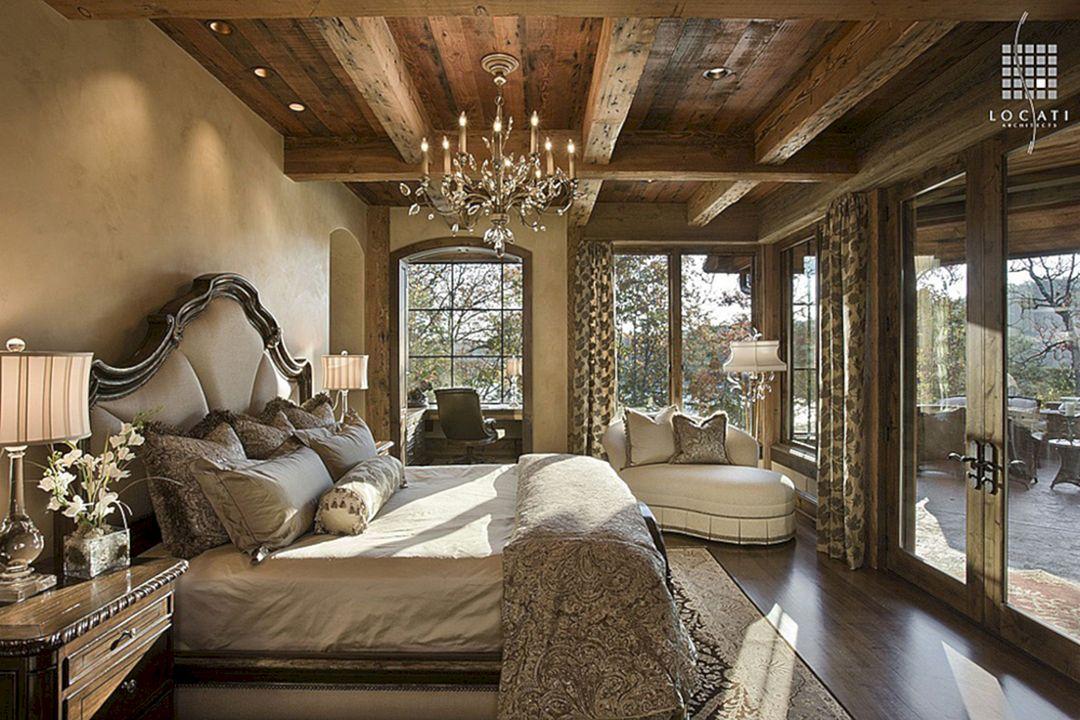 studio rustic bedroom