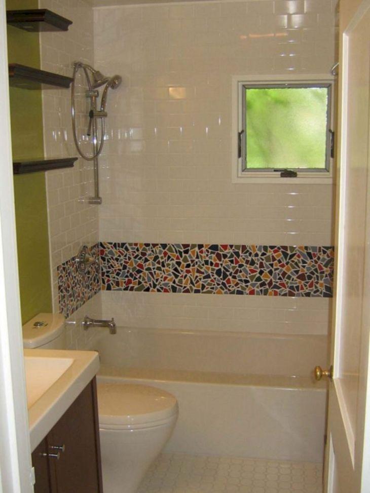 Bathroom Design With Tile Mosaic (5)