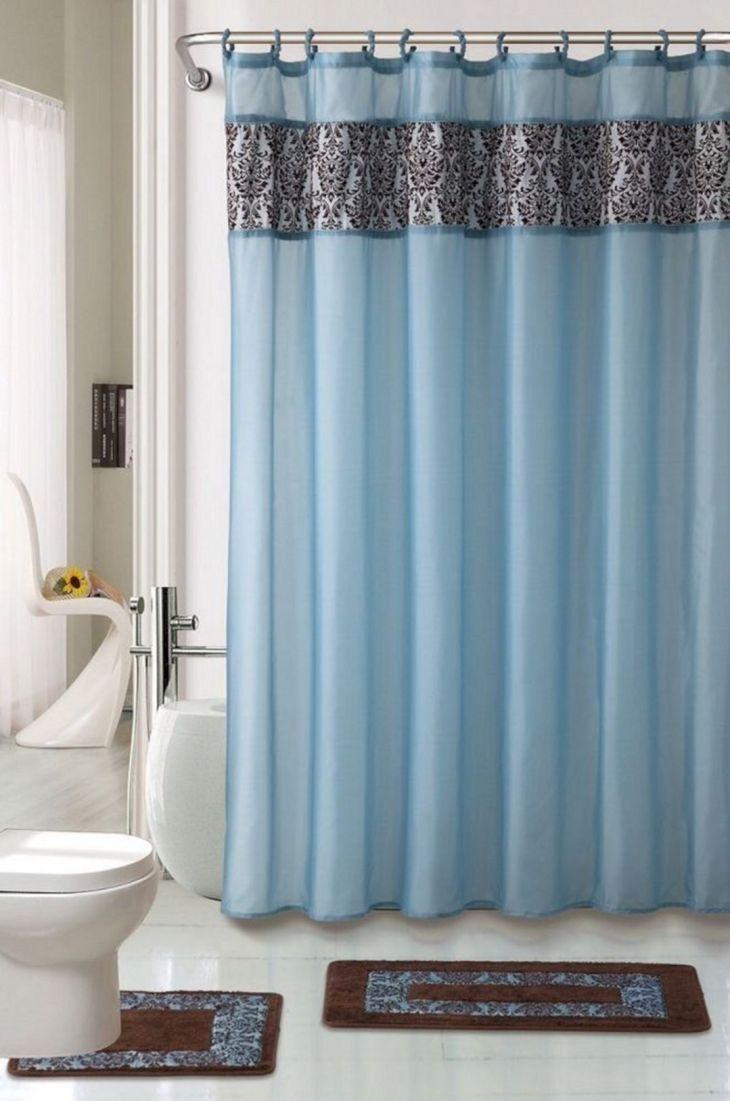 Bathroom Shower With Curtain 01