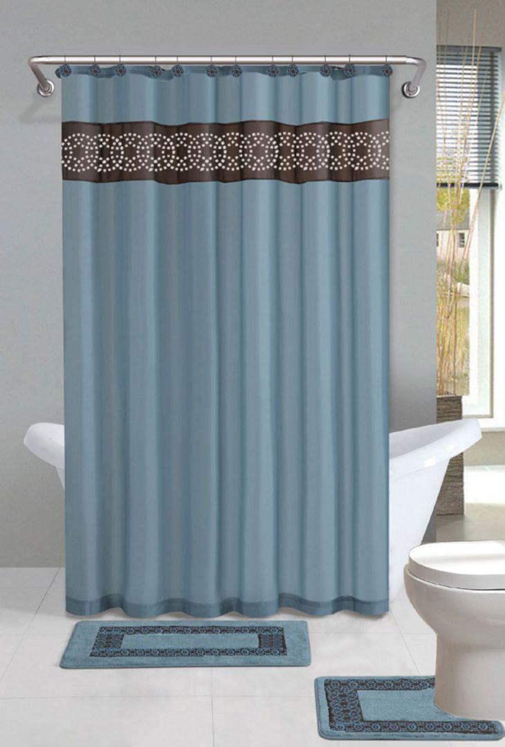 Bathroom Shower With Curtain 011