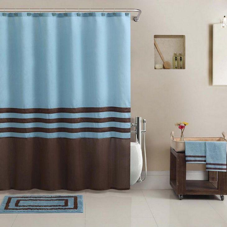 Bathroom Shower With Curtain 015