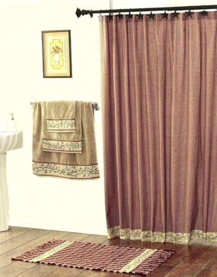 Bathroom Shower With Curtain 021