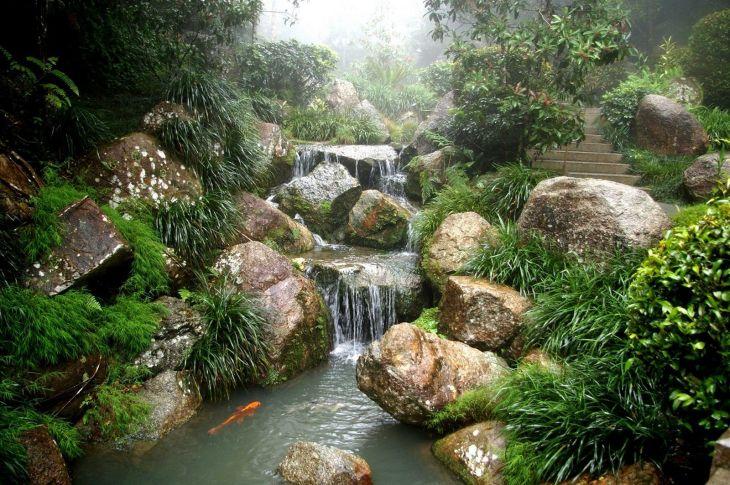 Beautiful Rock Garden 140