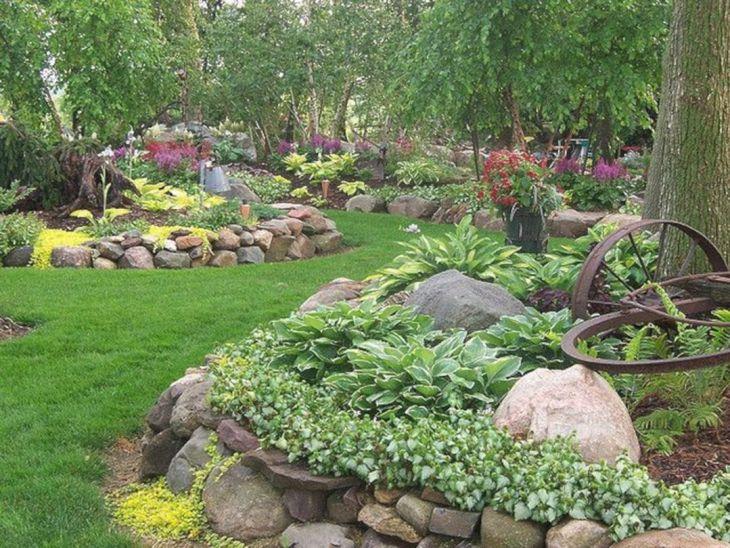Beautiful Rock Garden 90