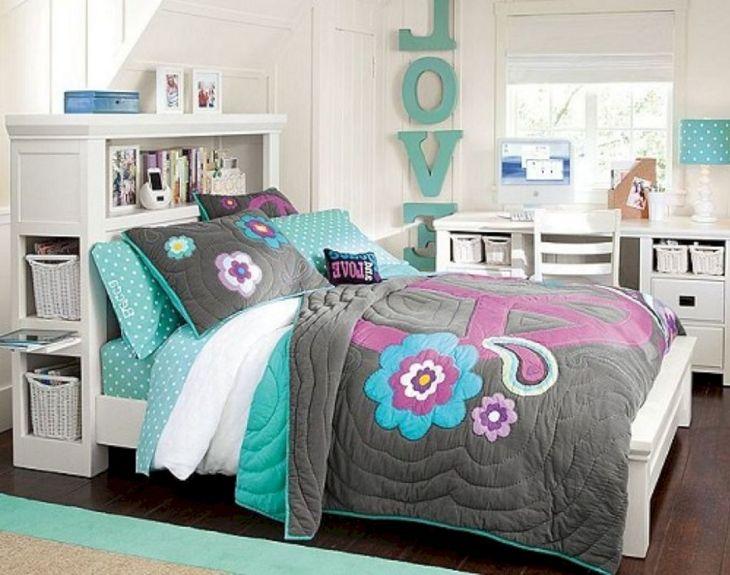 Blue Girls Bedroom Ideas 018