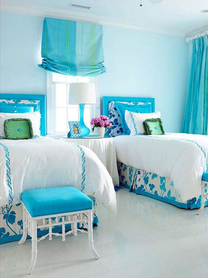 Blue Girls Bedroom Ideas 020