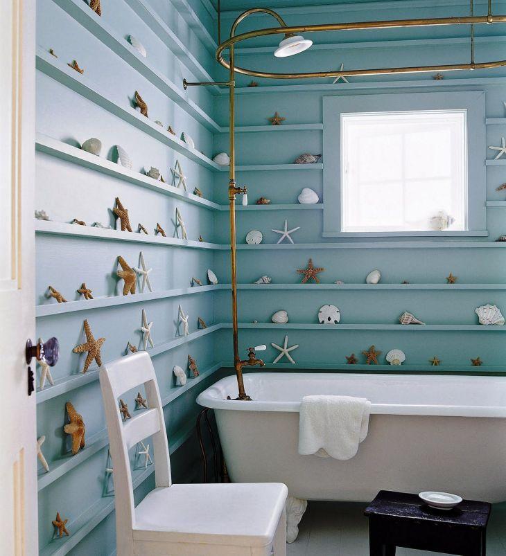 Coastal Bathroom Decor 36