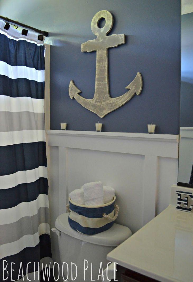 Coastal Bathroom Decor 44