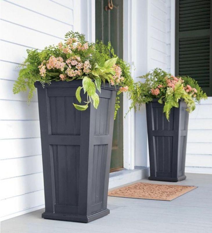 Contemporary Outdoor Planters Ideas 10