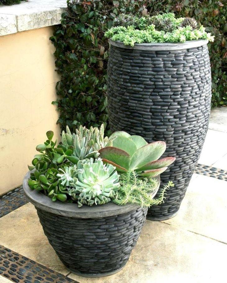 Contemporary Outdoor Planters Ideas 16