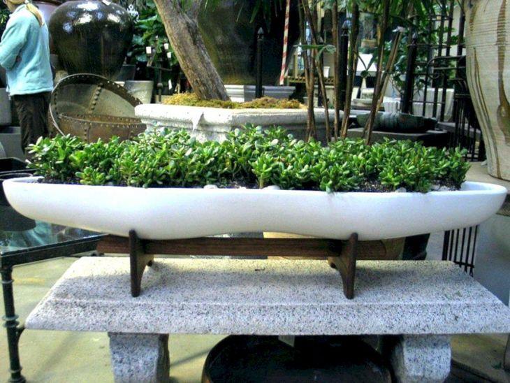 Contemporary Outdoor Planters Ideas 17