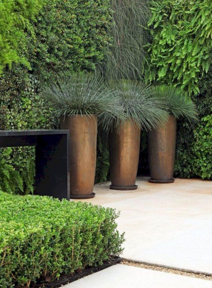 Contemporary Outdoor Planters Ideas 22