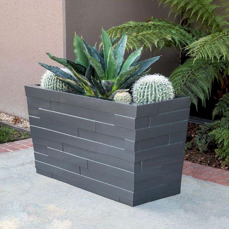 Contemporary Outdoor Planters Ideas 4