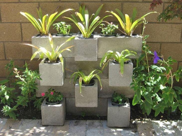 DIY Gardening With Cinder Blocks 14