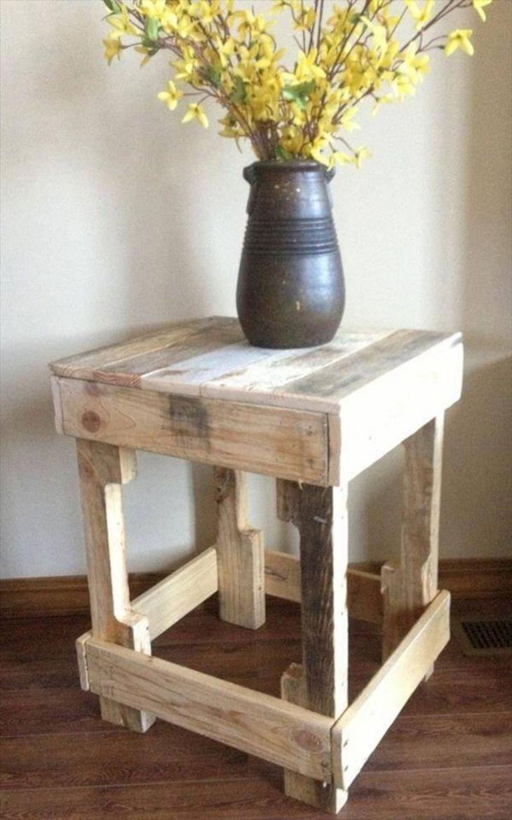 DIY Side Table Ideas 103