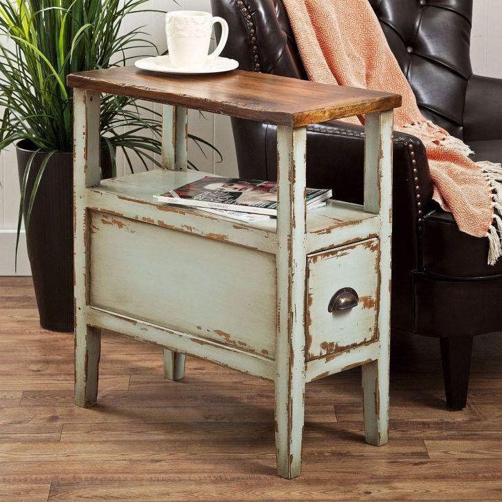 DIY Side Table Ideas 109