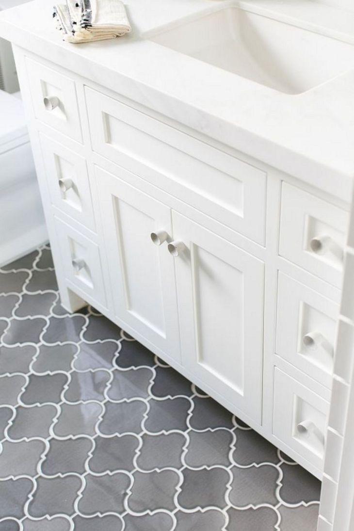 Gray Bathroom Floor Tile (1)