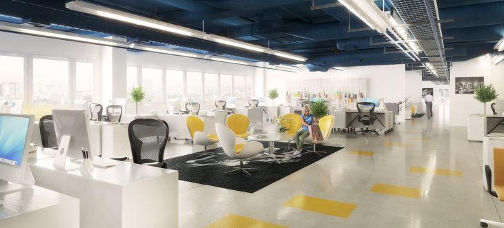 Home Office Interior Design 130