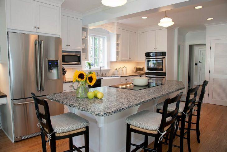 Kitchen Islands with Breakfast Bar 91