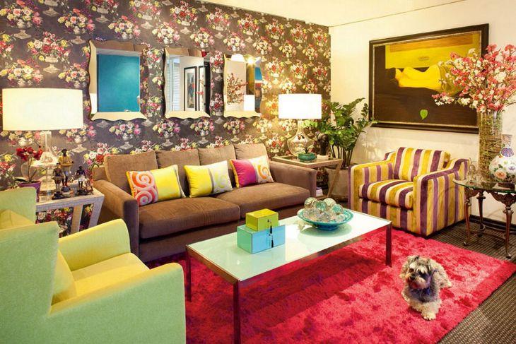 Living Room Colorful Sofa 11