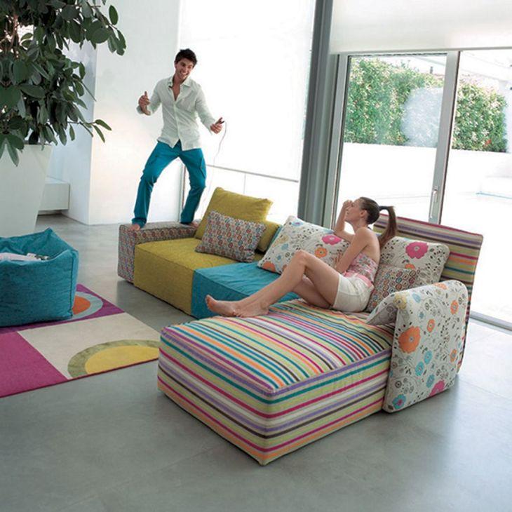 Living Room Colorful Sofa 14
