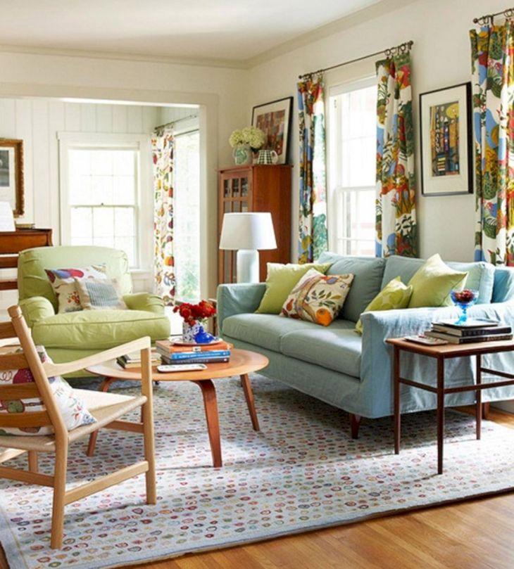 Living Room Colorful Sofa 20