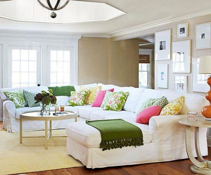 Living Room Colorful Sofa 3