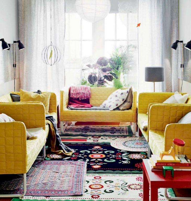Living Room Colorful Sofa 7