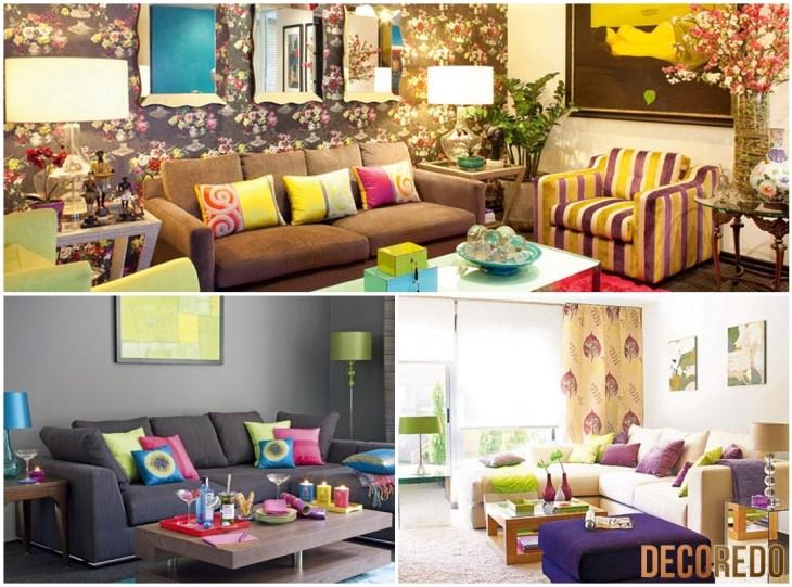 Living Room Colorful Sofa