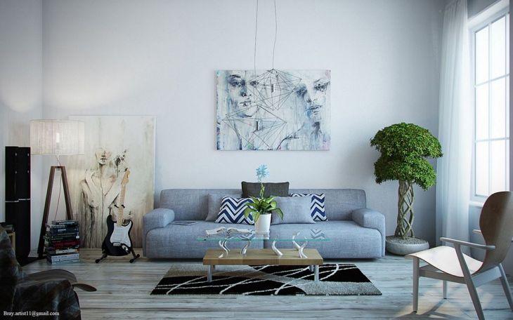 Living Room Wall Art Ideas 019