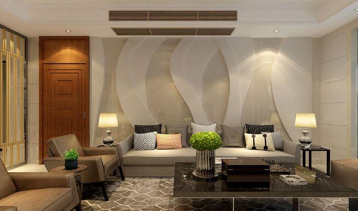 Living Room Wall Gallery Design 13