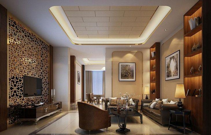 Living Room Wall Gallery Design 14