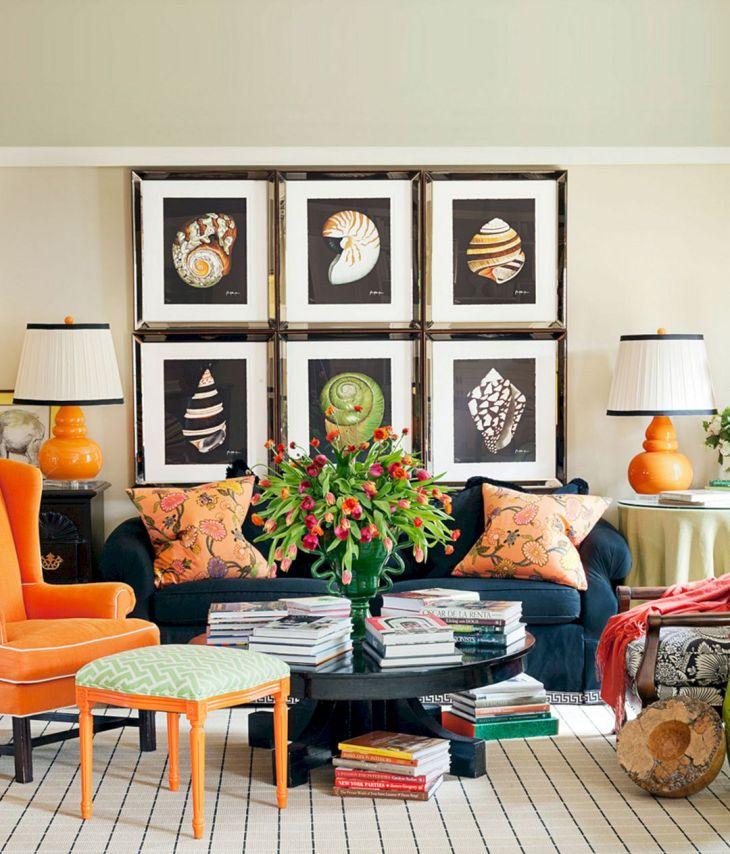 Living Room Wall Gallery Design 15