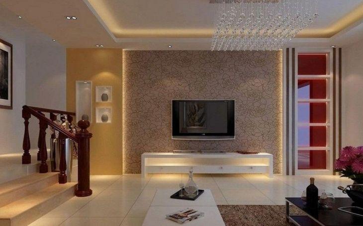 Living Room Wall Gallery Design 16