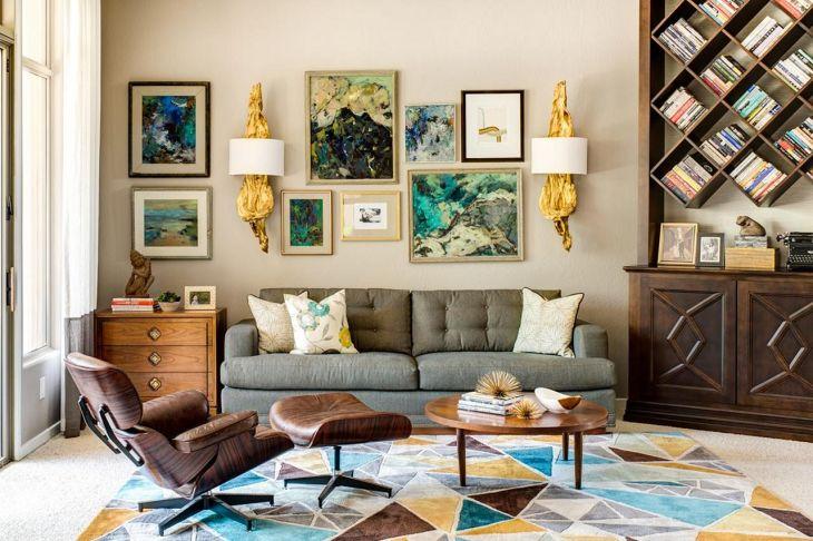 Living Room Wall Gallery Design 20