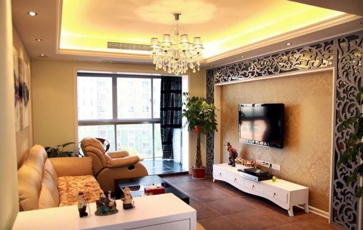 Living Room Wall Gallery Design 32