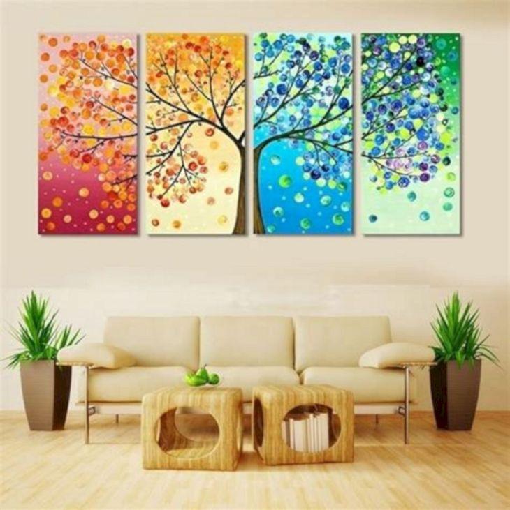 Living Room Wall Gallery Design 5