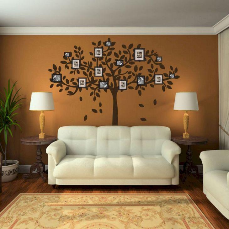 Living Room Wall Gallery Design 8
