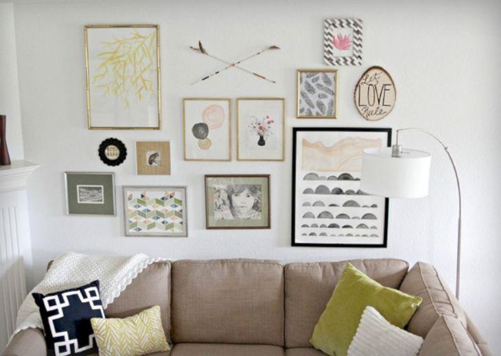 Living Room Wall Gallery Design 9