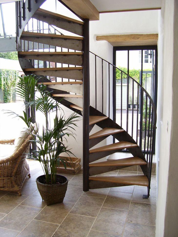Modern Spiral Staircase Ideas 114