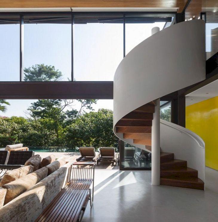 Modern Spiral Staircase Ideas 124