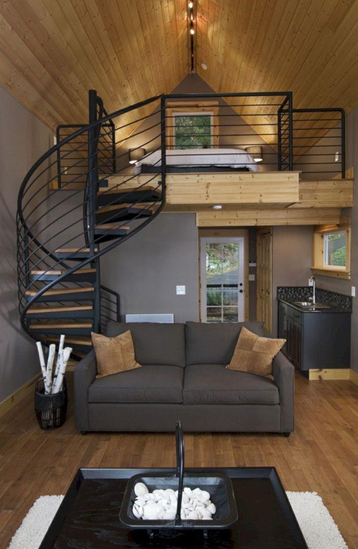 Modern Spiral Staircase Ideas 14