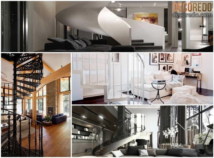 Modern Spiral Staircase Ideas