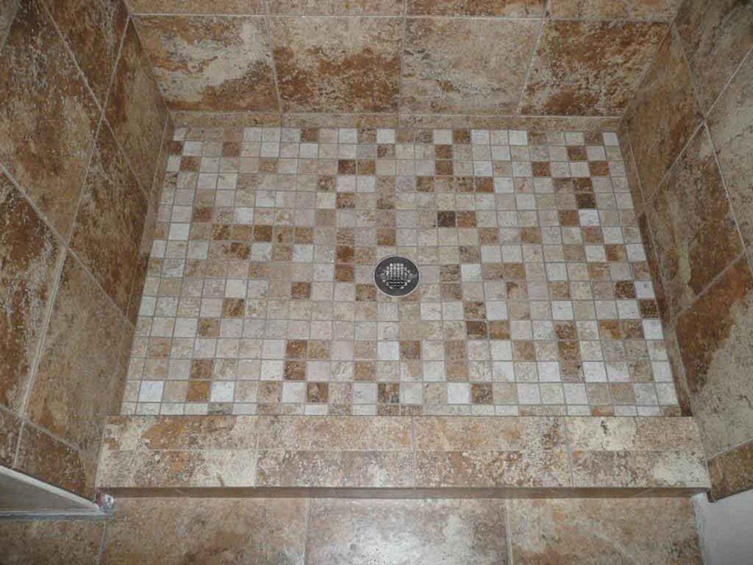 Mosaic Tile Bathroom Floor Ideas (4)