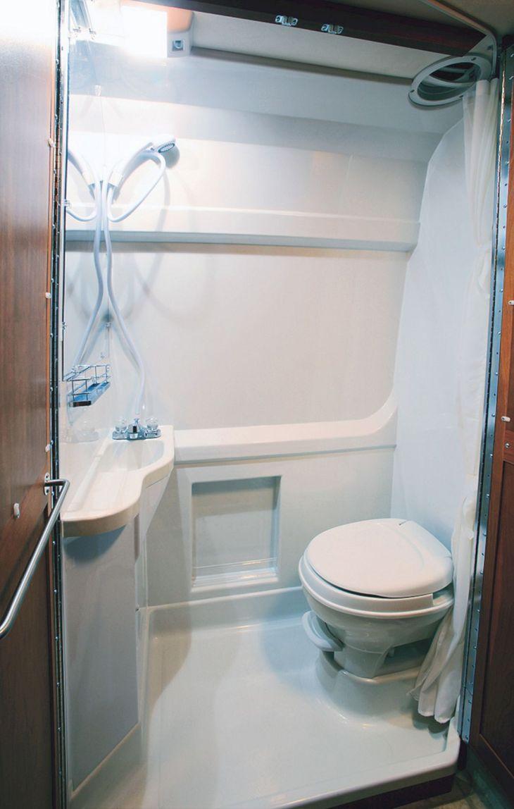 RV Bathroom Shower 02