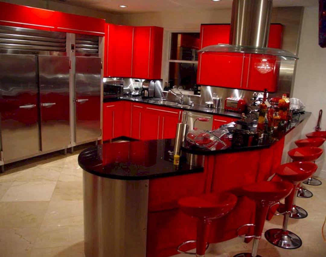 Red And Black Kitchen Ideas 10 Decoredo